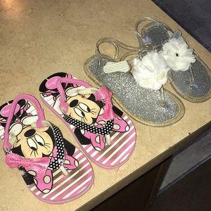 Other - Lil girl sandal bundle
